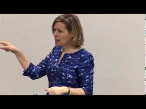 Caroline Arnold speaks at Microsoft headquarters