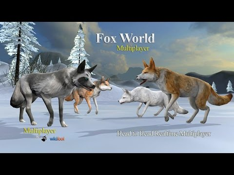 🦊👍Fox World Multiplayer-Симулятор Лиса- Мультиплеер-By Wild Foot Games Simulation - Android