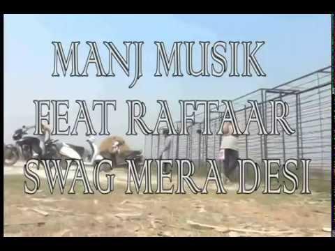 swag mera desi feat raftaar (outdoor dance practice video)