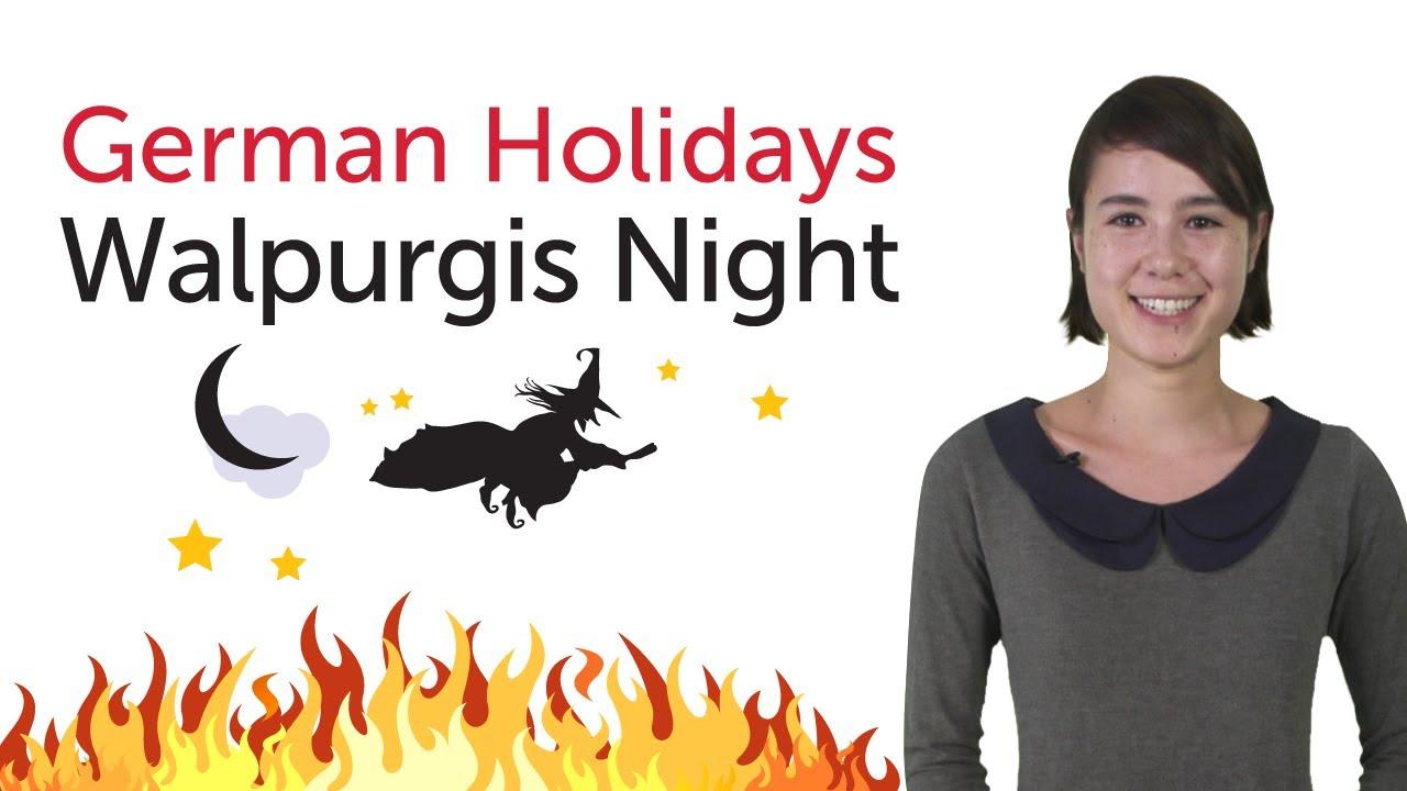 German Holidays – Walpurgis Night