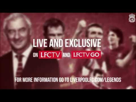 Watch LFC Legends take on Real Madrid live