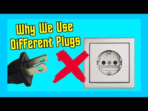 Why Different Countries Use Different Plugs