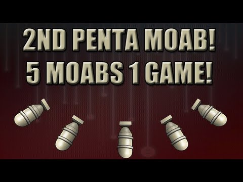 MW3: 151-10 Penta MOAB ( 5 MOABs One Game ) Video
