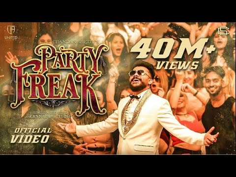 PARTY FREAK | CHANDAN SHETTY | NEW KANNADA SONG | OFFICIAL MUSIC VIDEO 4K | UNITED AUDIOS