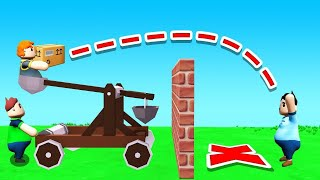 DELIVER The MAIL OVER The IMPOSSIBLE BARRIER! (Totally Reliable Delivery Service)