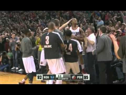 Damian Lillard&#8217;s game winner against Hornets
