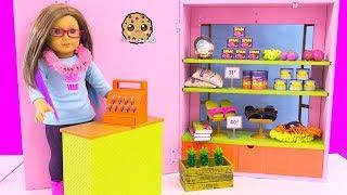 Video American Girl Hawaiian Store Market - Doll Shopping Toy Video Cookie Swirl MP3, 3GP, MP4, WEBM, AVI, FLV Desember 2018