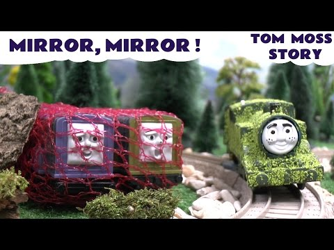 Thomas - Thomas and Friends Tom Moss The Prank Engine against Diesel 10. Diesel 10's yard sale haul of Play Doh items includes a magic mirror like the one from Disney Princess Snow White. Will Tom Moss...