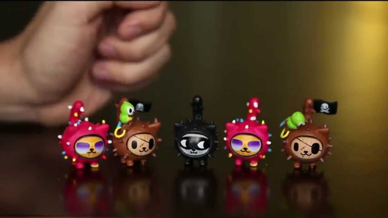 Tokidoki Mini Kitties Blind Box Ep 2