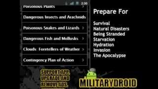 US Army Survival Guide YouTube video