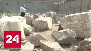 В Египте нашли 8-метровую статую фараона Рамсеса II