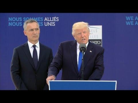 Trump's full speech at NATO 9/11 memorial