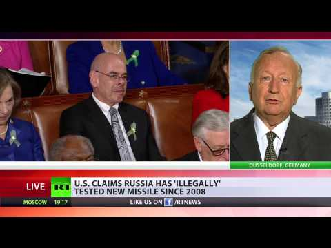 Street - The US has accused Moscow of violating laws dating back to the 1980s. Washington says Russia has breached a nuclear arms treaty signed with the Soviet Union in 1987, by testing a ground-launch...