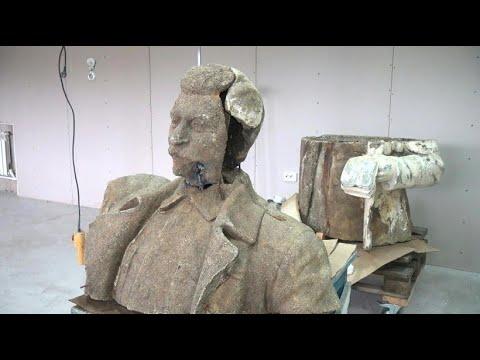 Russland: Kusa streitet über Stalin-Statue - Aufstellen oder nicht?