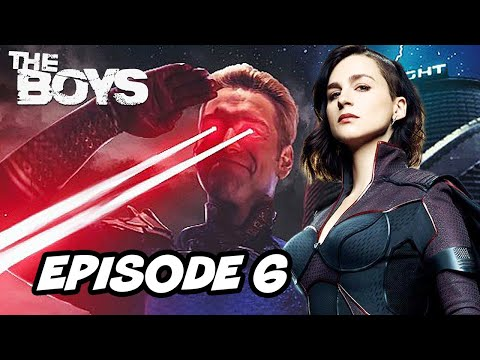 The Boys Season 2 Episode 6 TOP 10 WTF and Justice League Easter Eggs