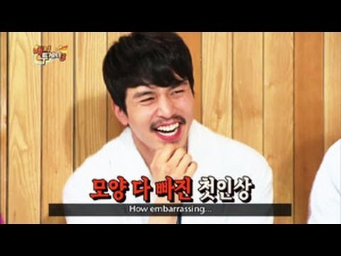 Happy Together - The Fugitive Of Joseon(천명) : Lee Dongwook, Song Jihyo & Im Seulong! (2013. 05. 08)
