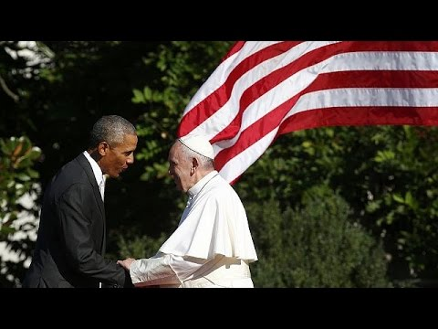 Ομπάμα και Πάπας για πρόσφυγες, φτωχούς, αδυνάμους και περιβάλλον