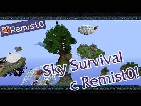 ВЕЛИЧАЙШАЯ ИГРА ЭТО... Minecraft. Sky Survival.