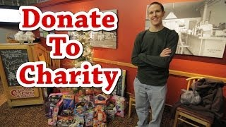 Bucket List #24 | Donate to Charity (Toys for Tots) | ProjectOneLife