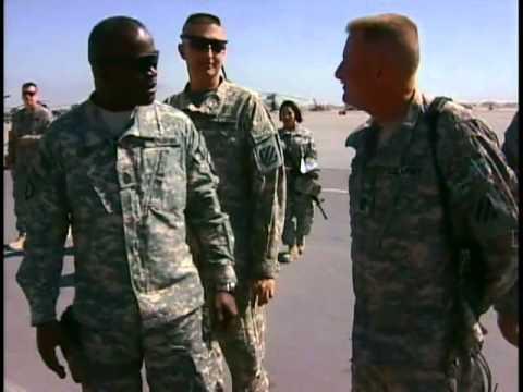 Command Sgt. Maj. Hill motivates Soldiers