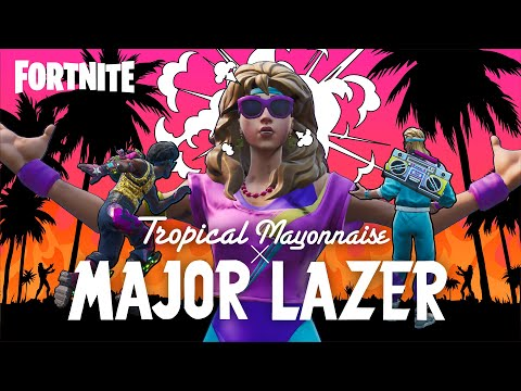 @Major Lazer  - Sound Bang (FORTNITE Music Video)
