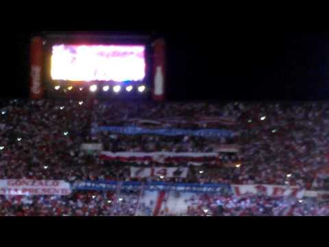 Video - Recibimiento, River 3 - San José de Oruro 0.  Copa Libertadores 2015 - Los Borrachos del Tablón - River Plate - Argentina