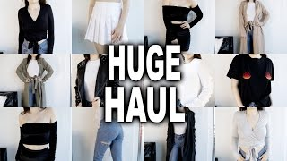 Today I have another try on haul for you guys! I have items from American Apparel, Asos, Zara, NA-KD, Ivy Revel, Boohoo, Boom Boom the Label, Public Desire, ...
