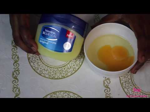 Look 10 Years Younger Using Vaseline And Egg White ! Asian Anti-Aging Secrets