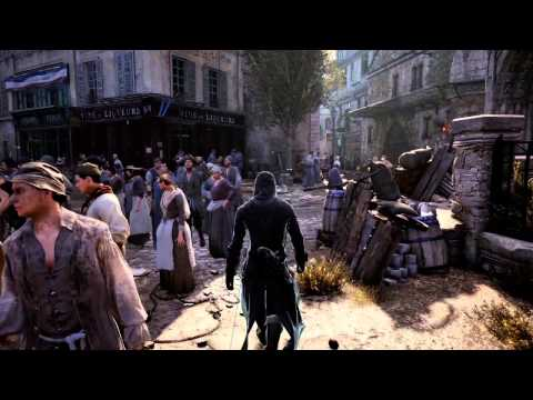 assassin - Ubisoft Montreal's team lead crowd Aleissia Laidacker and crowd life director Jesse Sweet show off the gigantic Parisian crowds found in Assassin's Creed Unity, including one mission that...