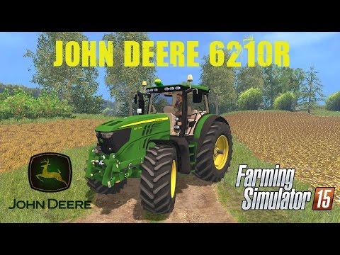 JOHN DEERE 6210R v3