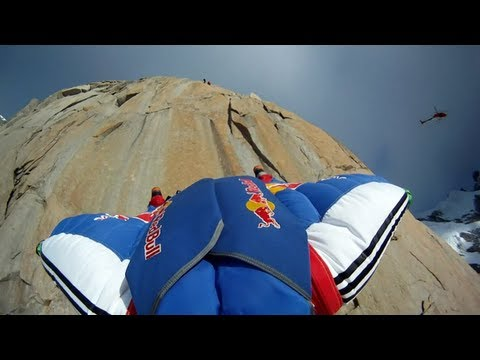redbull - We look back at 2011 when Russian climber and B.A.S.E. jumper Valery Rozov broke another record. For the very first time in history, while wearing a wingsuit...