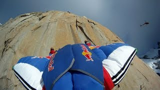 BASE Climbing&Wingsuit Flying - Red Bull From Top to Base