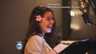 Meet new Disney princess Auli'i Cravalho, star of 'Moana' Video