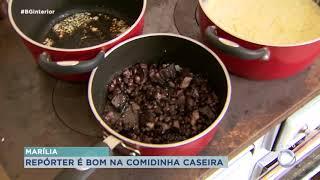 Fernando Garcia abre a casa para os telespectadores da Record Tv Paulista