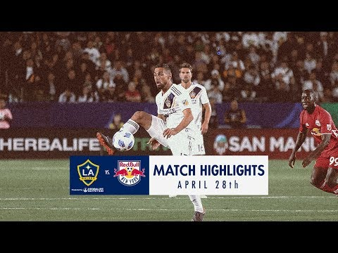 Video: HIGHLIGHTS: LA Galaxy vs New York Red Bulls | April 28, 2018