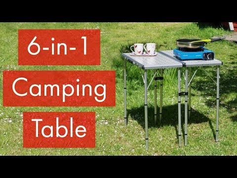 2018 Coleman 6-in-1 Camping Table - TheMudLife.co.uk