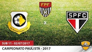 Lances do Campeonato Paulista 2017 - categoria sub 11 São Bernardo FC 1x1 São Paulo FC 02/07/2017 - Estádio 1º de Maio...