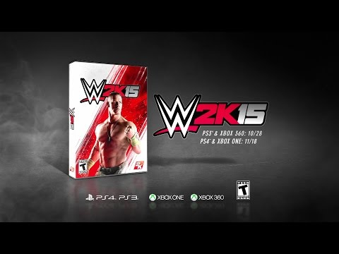 it - Watch the brand new commercial for WWE 2K15. WWE 2K15 is rated T for Teen by the ESRB. More ACTION on WWE NETWORK : http://bit.ly/1u4pM74 Don't forget to SUBSCRIBE: http://bit.ly/1i64OdT.