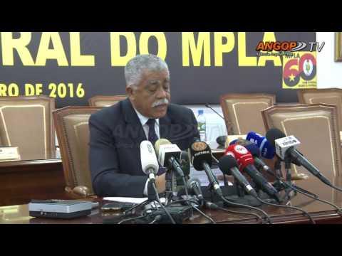 Termina Reunião do Comité Central do MPLA