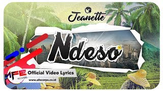 Jeanette - Ndeso (Official Video Lyrics)