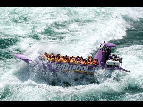 Download Niagara Falls Whirlpool Jet Boat Tour HD Mp4 3GP Video and MP3