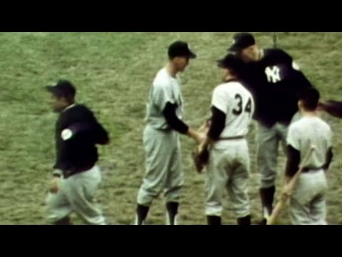 Video: Stottlemyre seals complete game win in the '64 World Series
