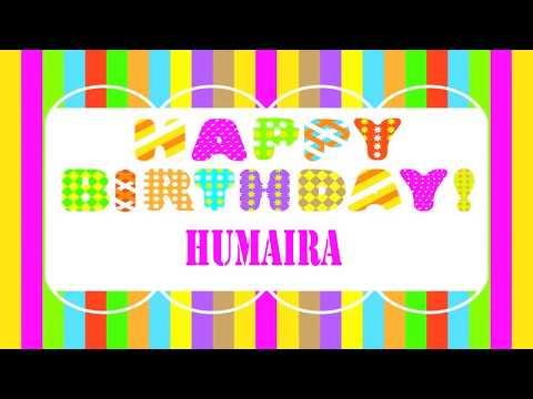 Humaira   Wishes & Mensajes - Happy Birthday