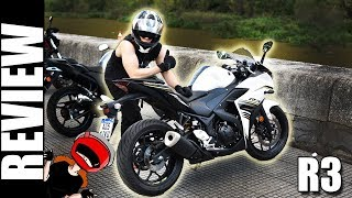 8. Review Yamaha R3 ABS 2017