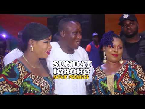 Sunday Igboho Movie Premier With Saheed Osupa