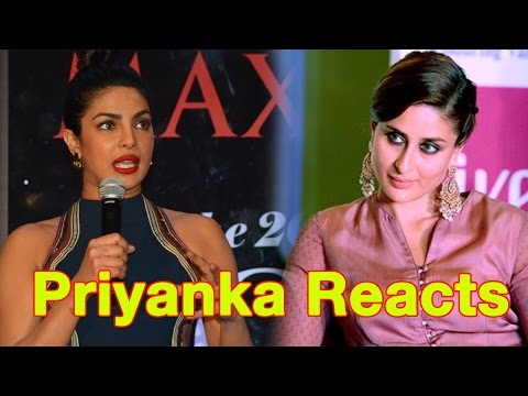 Priyanka Chopra Reacts On Kareena Kapoor's Comment