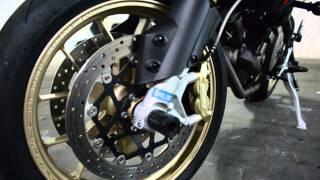 9. Aprilia Dorsoduro 750 Factory '' Akrapovic '' replica RSV4 SBK 2015 Review + Sound
