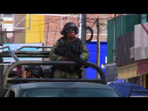 Mexican govt forces regain ground in restive Michoacan