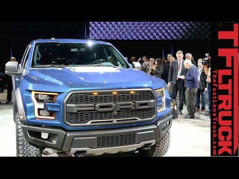 Watch the 2017 Ford F-150 Raptor Debut at The Detroit International Auto Show