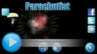 Parachutist YouTube video